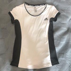 adidas Tops - Black and white adidas t shirt